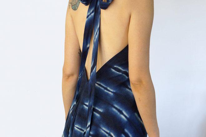 Robe Shibori dos