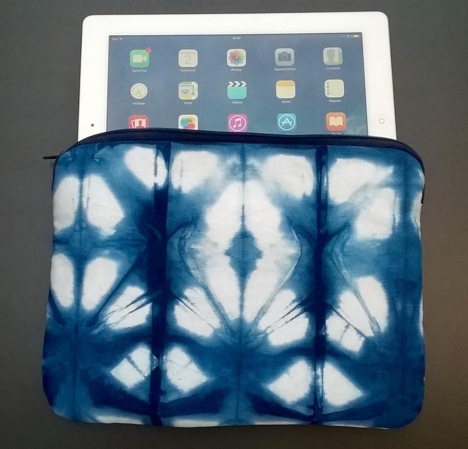 House I pad indigo & shibori créée par maman C